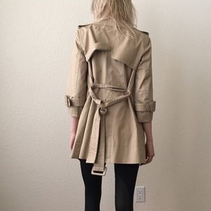 Marc Jacobs 3/4 trench coat
